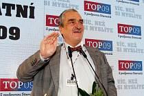 Karel Schwarzenberg na celostátním sněmu strany TOP 09.