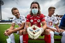 Focení fotbalistů FC Hradec Králové