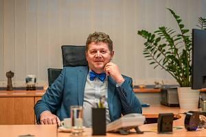 Děkan Fakulty informatiky a managementu Univerzity Hradec Králové Josef Hynek.