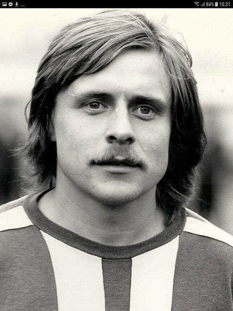 Luboš Martinec vdobě, kdy hrál za Náchod.