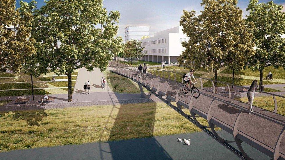 Nová lávka by mohla obyvatelům a návštěvníkům města sloužit na přelomu let 2019 a 2020. Nenašel se však zatím nikdo, kdo by ji postavil.