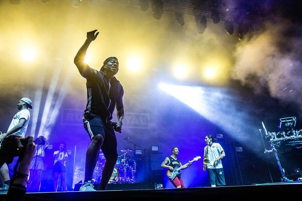 Z festivalu Rock for People: Rudimental.