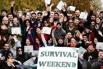 Survival Weekend organizovaný studentskou organizací ESN Buddy System Hradec Králové.
