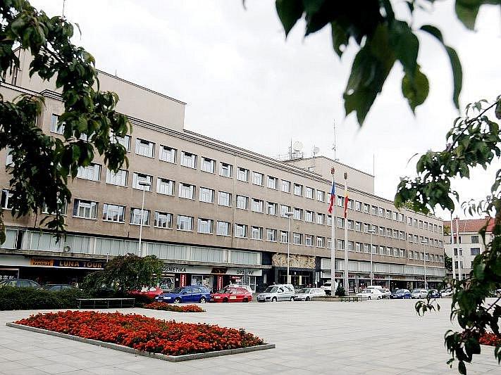 Sídlo Policie ČR na Ulrichově náměstí v Hradci Králové.
