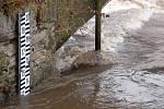 Povodňové nebezpečí na Metuji v Novém Městě nad Metují