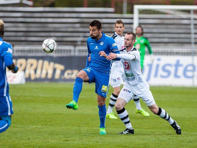 Fotbalová ePojisteni.cz liga: FC Hradec Králové - FC Slovan Liberec.