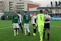 Zimní fotbalová Tipsport liga: FC Hradec Králové - FK Jablonec.