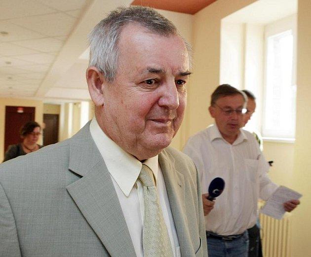 Bývalý konkurzní správce Jaroslav Wimmer, obžalovaný z dvojnásobné zpronevěry a nedovoleného ozbrojování.