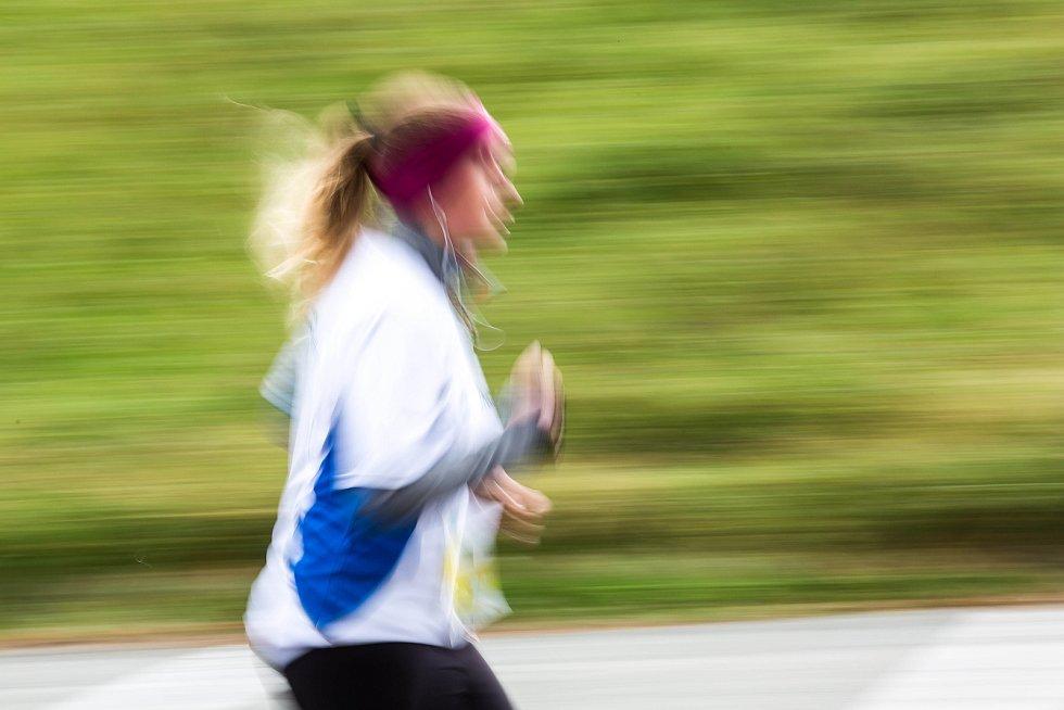 Hradecký půlmaraton.