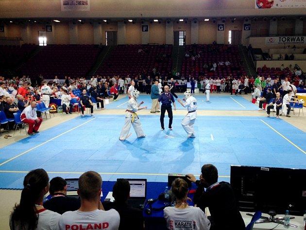 Mistrovství Evropy juniorů 2015vkyokushin karate ve Varšavě.