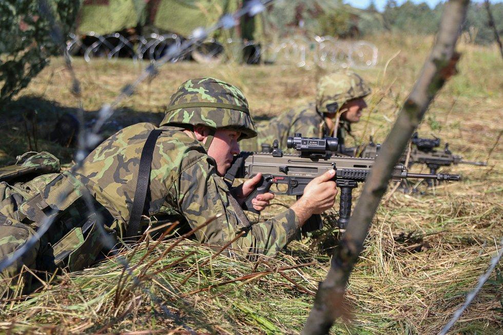 První společný výcvik jednotky proběhl již vloni na podzim na Oldřichově.
