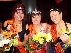 Finále soutěže Missis Eurobabička ve Skřivanech.
