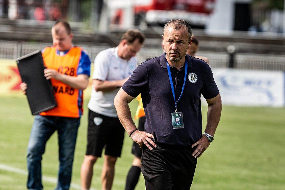 Fotbalová FORTUNA:NÁRODNÍ LIGA: FC Hradec Králové - FC MAS Táborsko.