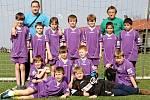 Fotbalový turnaj starších přípravek O pohár kapitána na Novém Hradci Králové - Hořice.