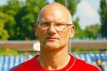 Trenér Pavel Matějka.