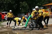Východočeská hasičská liga v Letohradě-Kunčicích
