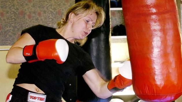 Boxerka Hana Trojanová