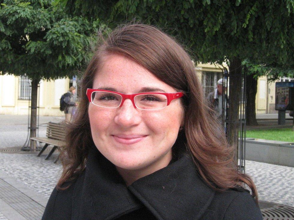 Michaela Hellerová, 19 let, Hradec Králové