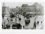 Příjezd německé okupační armády do Hradce Králové.
