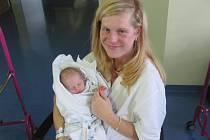 SOFIA HOLEŠOVÁ  poprvé otevřela oči 25. července v 9.19 hodin. Měřila 48 centimetrů, vážila 2580 gramů a potěšila maminku Terezu Dvořákovou, tatínka Radka Holeše a sestru Karolínu z Bukoviny.