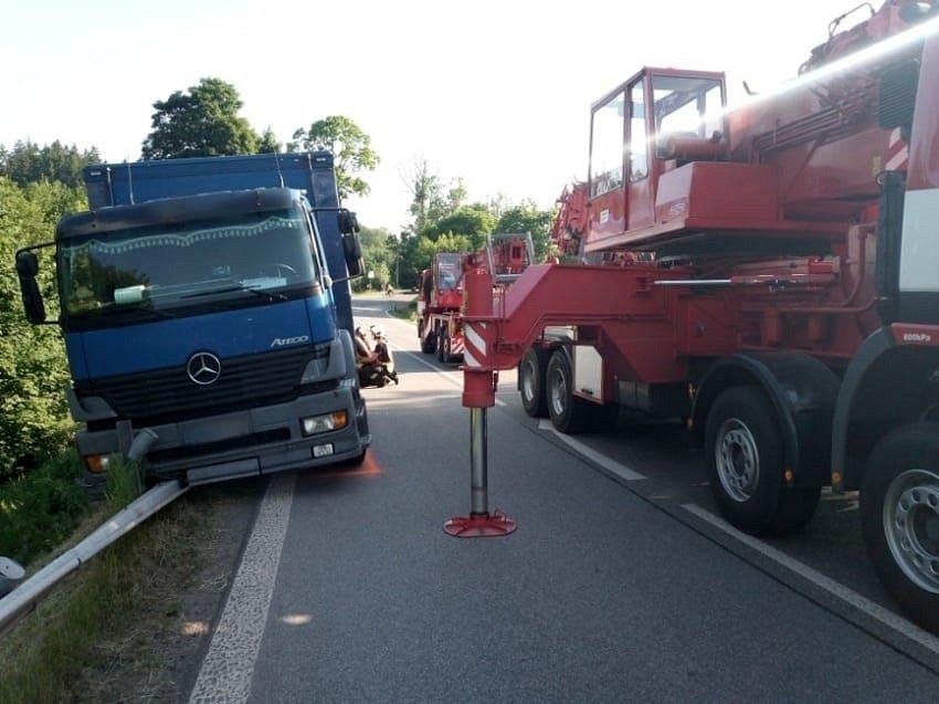 Nehoda v Chotěvicích