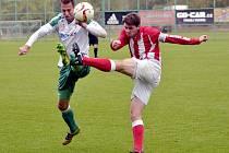 Česká fotbalová liga: FC Olympia Hradec Králové - Viktorie Jirny.