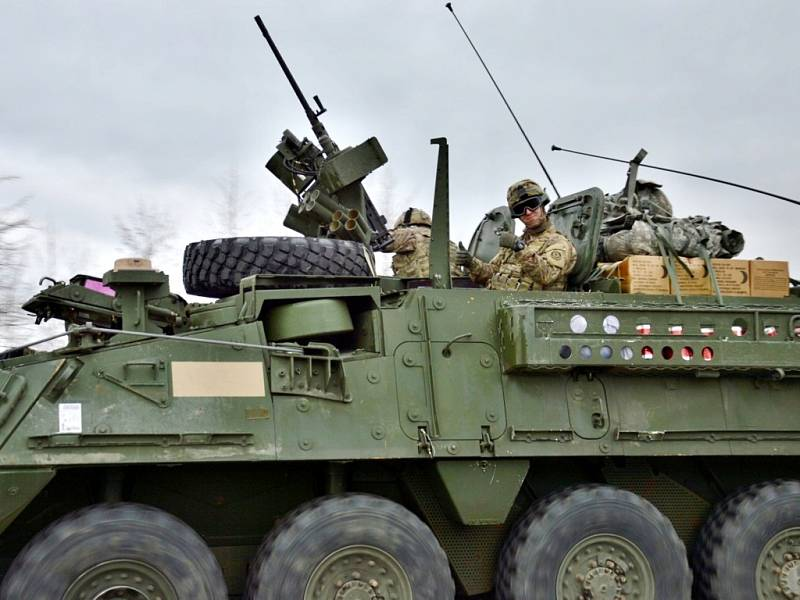 Transportér americké armády zachycený na Královéhradecku.