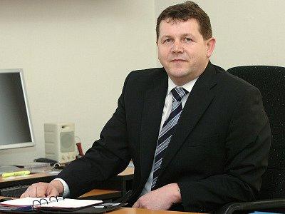 Josef Hynek, jediný kandidát na rektorskou funkci