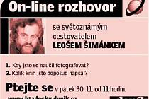 On - line rozhovor s Leošem Šimínkem