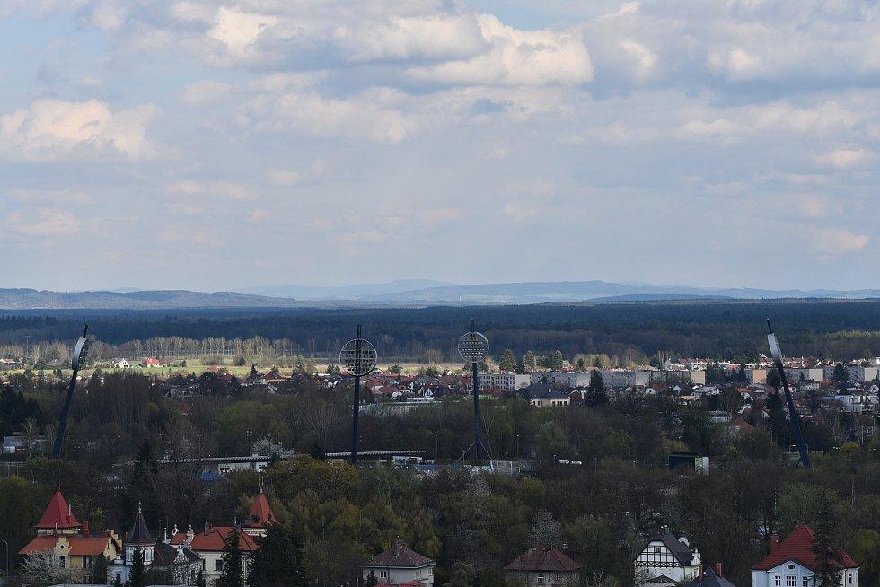 Výhled z Bílé věže.