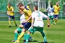 Krajský přebor ve fotbale: FC Olympia Hradec Králové - MFK Nové Město nad Metují.