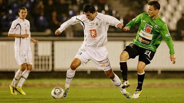 Fotbalová Gambrinus liga: FC Hradec Králové - FK Baumit Jablonec.