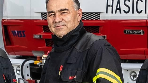 ppor. Bc. Václav Klíma, velitel čety směny B na centrální stanici v Hradci Králové