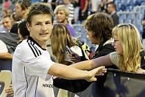 Hradecký fotbalista Václav Pilař.