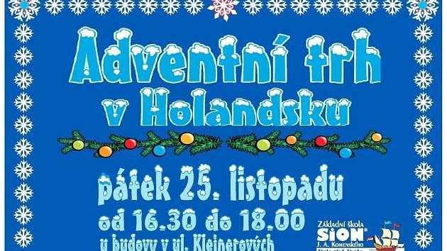 Pozvánka na Adventní trh v Holandsku.