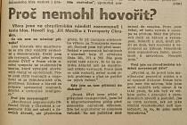 Co psala Pochodeň 28. listopadu 1989?
