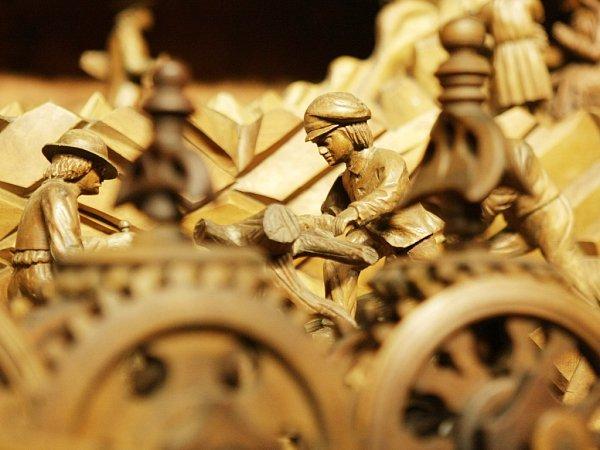 Třebechovické muzeum betlémů - unikátní Proboštův betlém vnovém prostředí vTřebechovicích pod Orebem.
