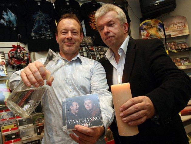 Jaroslav Svěcený a Michal Dvořák vydali Vivaldianno MMXII.