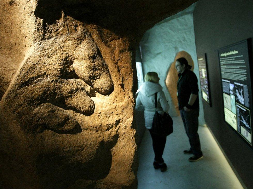 Archeopark ve Všestarech.