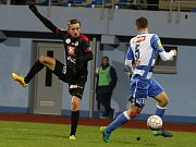 Fotbalová Fortuna národní liga: FK Ústí nad Labem - FC Hradec Králové.