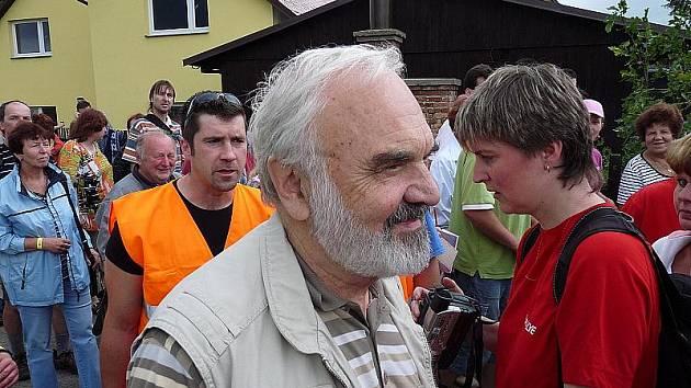 Charitativní akce Žlutomodrý den Berry v Křižanovicích.