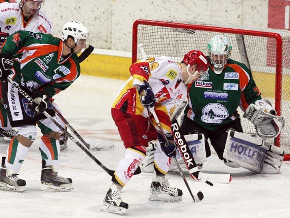 I. hokejová liga: HC VCES Hradec Králové - HC Most.