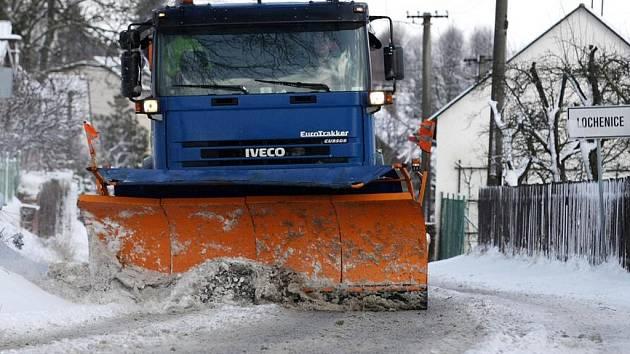 Sněhová kalamita v Královéhradeckém kraji.