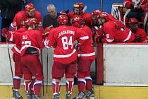 Hokejová European Trophy: Mountfield HK - Kärpät Oulu.