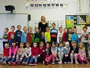 Představujeme prvňáky ze Základní školy v Hluboké nad Vltavou -1.A