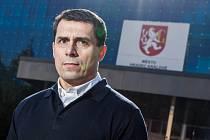 Aleš Kmoníček, generální manažer hradeckého hokejového klubu Mountfield HK.
