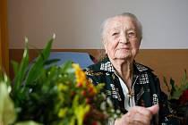 Rodačka z Náchoda Hedvika Trutnovská, která žije v krajském městě, slaví 107. narozeniny.