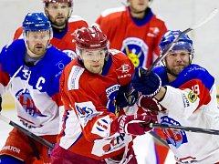 Krajská hokejová liga: SK Třebechovice pod Orebem - HC Náchod.