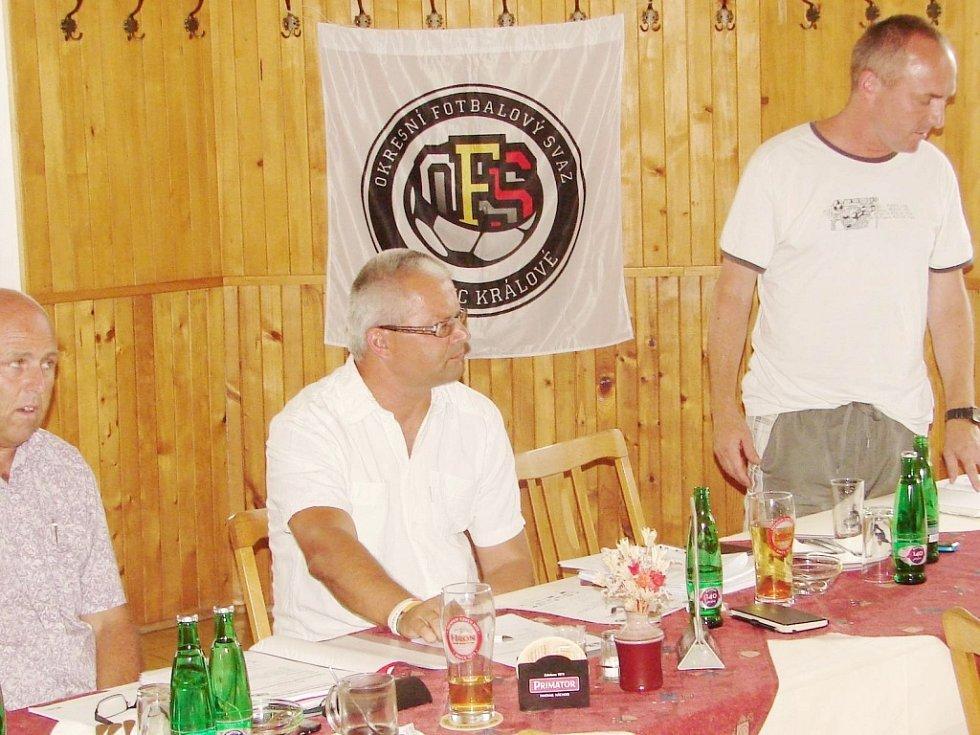Předsezonní Aktiv s fotbalovými oddíly OFS Hradec Králové.