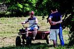 Terra Cup - závody zahradní techniky ve Výravě.